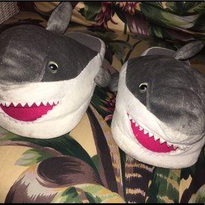 Shark slippers 🦈